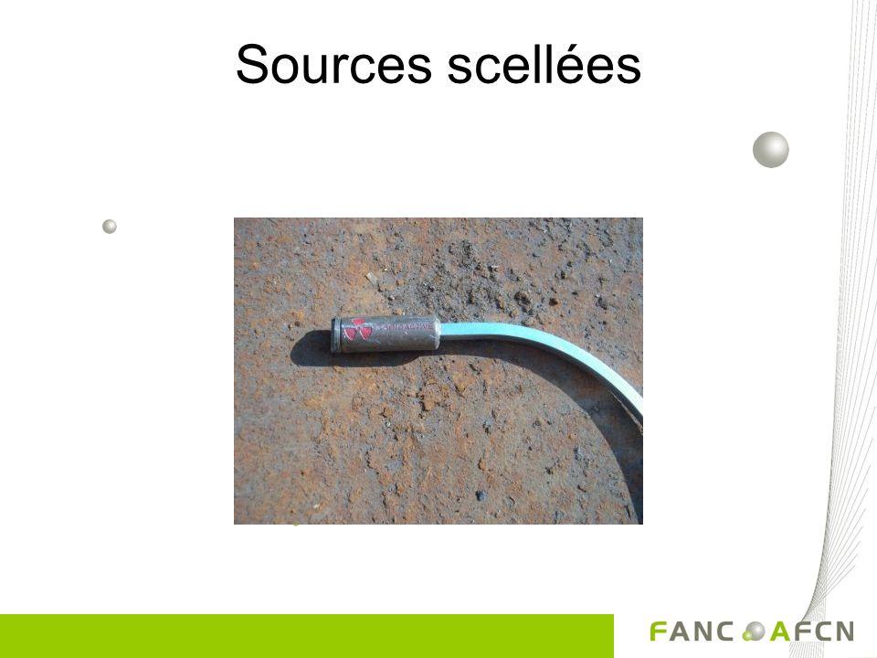 Types dobjets découverts Sources scellées Objets recouverts de peinture luminescente Paratonnerres Détecteurs de fumée Déchets médicaux (langes, …) Ma