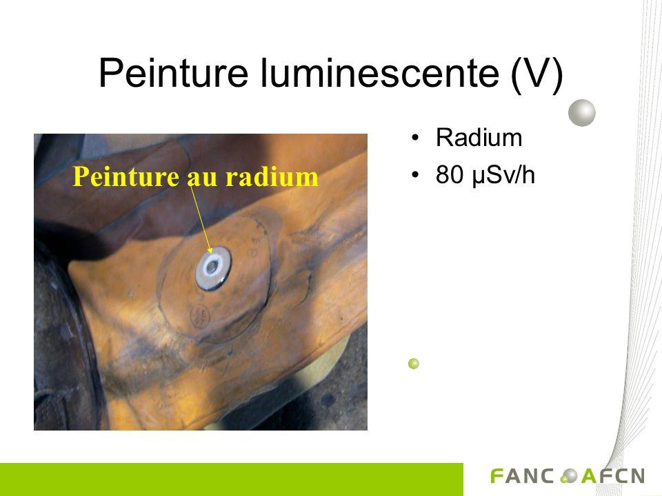 Peinture luminescente (IV) Canot de sauvetage