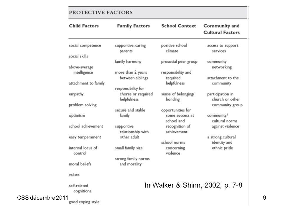 9 In Walker & Shinn, 2002, p. 7-8