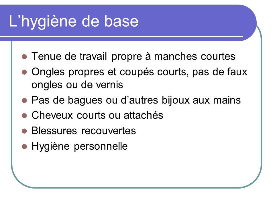 Lhygiène du résident Régulièrement laver les mains (p.ex.