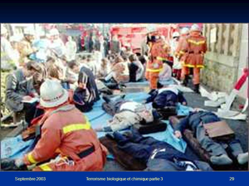 Septembre 2003 Terrorisme biologique et chimique partie 329
