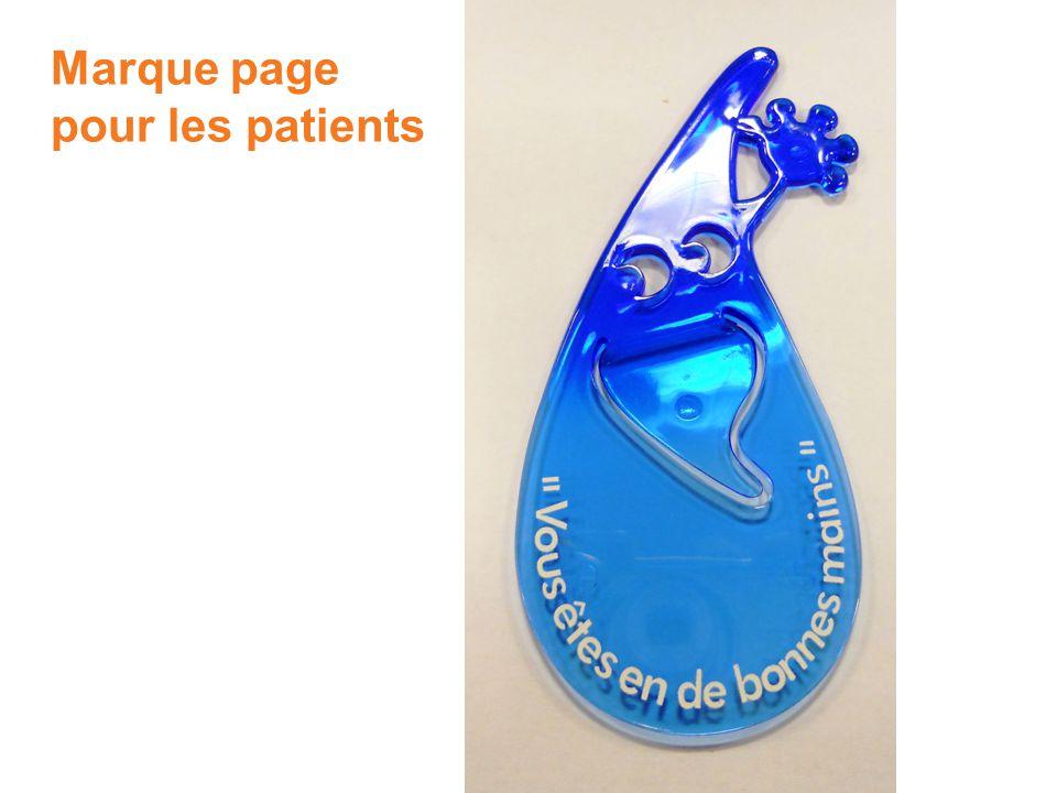24 Marque page pour les patients