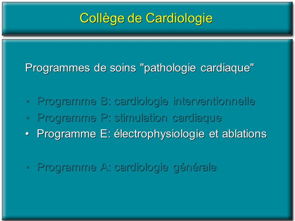 Programmes de soins