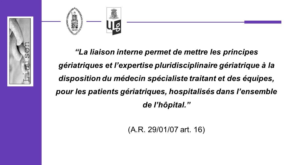 analyse séquentielle ce limplémentation de la fonction de liaison interne dans les hôpitaux pilotes 4.