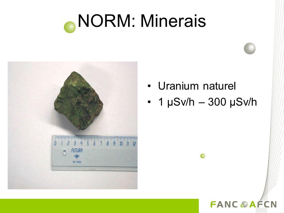 NORM: Manchons de lampe à gaz Thorium 3 µSv/h