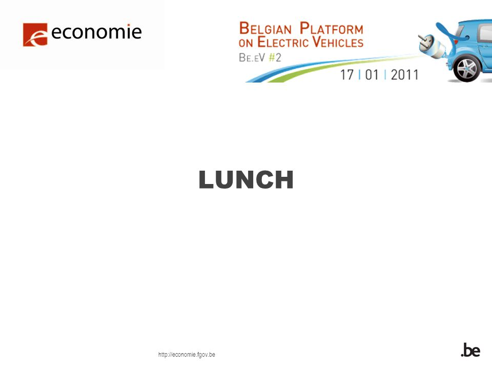 http://economie.fgov.be LUNCH