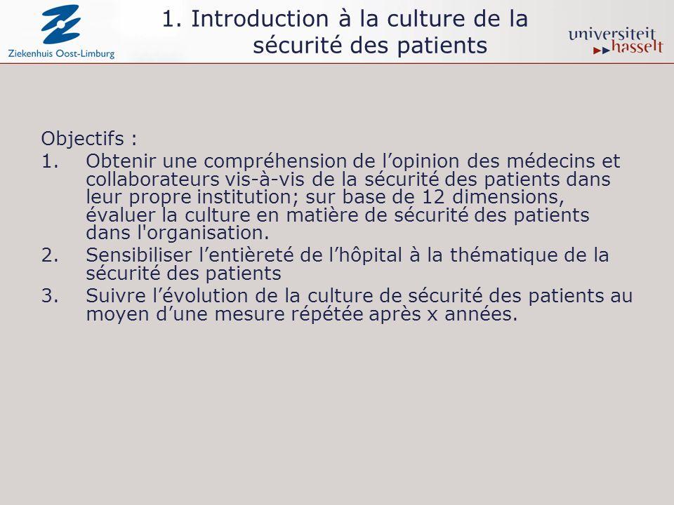 D5. Les retours d informations et la communication en matière de sécurité des patients Groupe