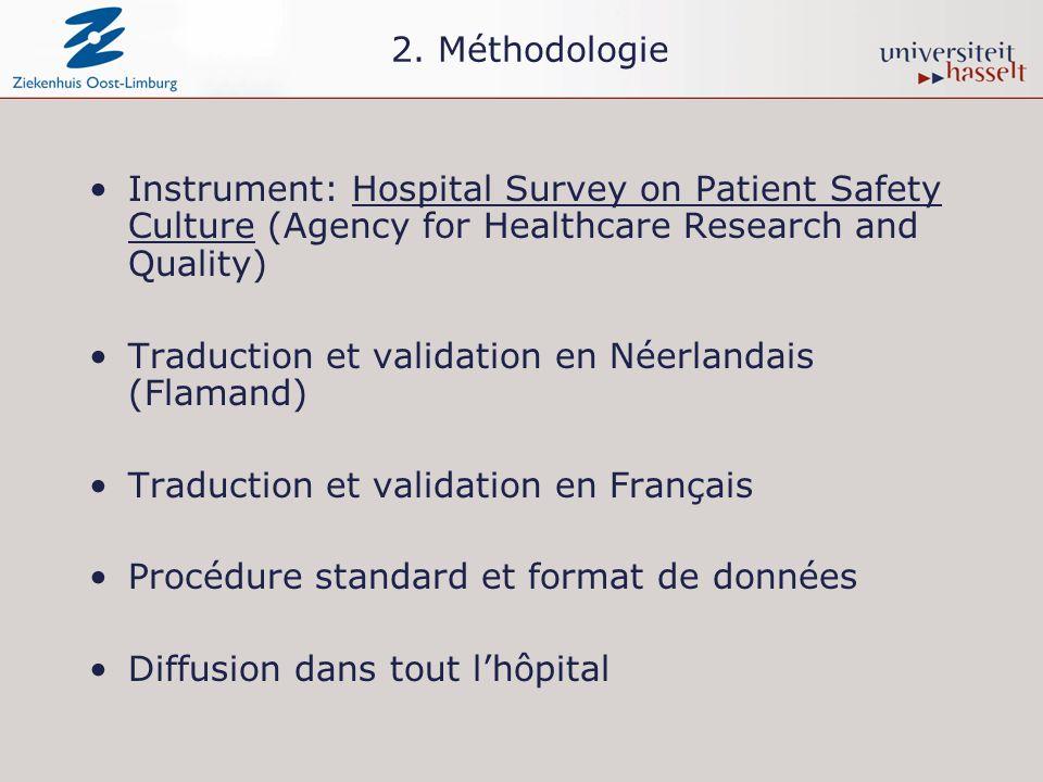 D8. Le soutien de la hiérarchie en matière de sécurité des patients Groupe