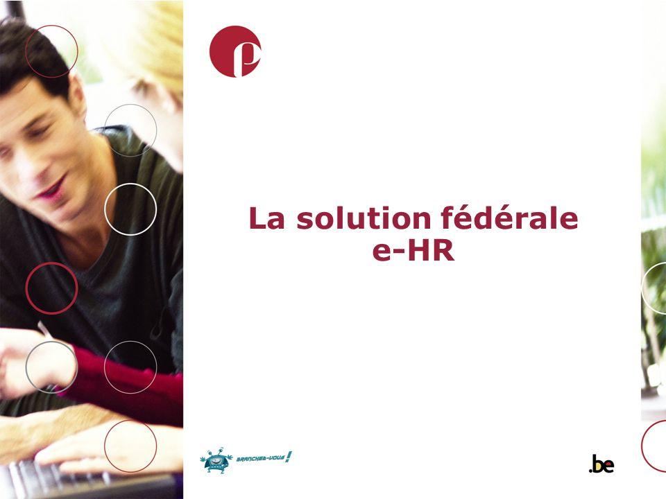 La solution fédérale e-HR