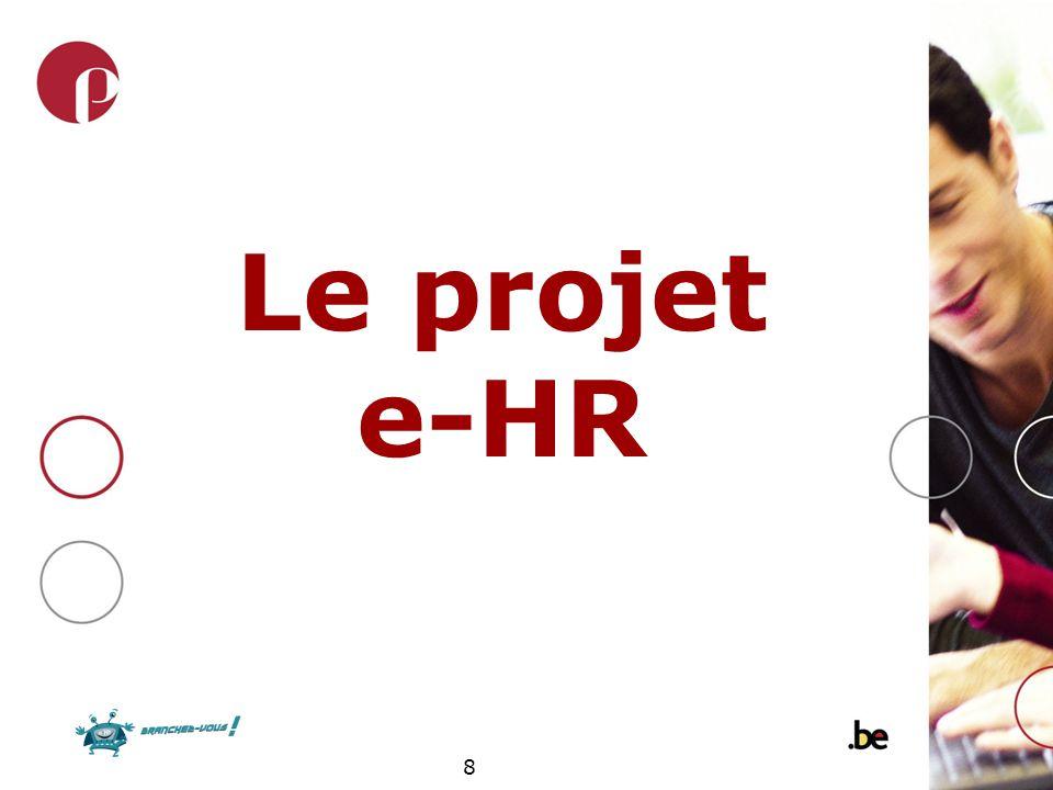 8 Le projet e-HR