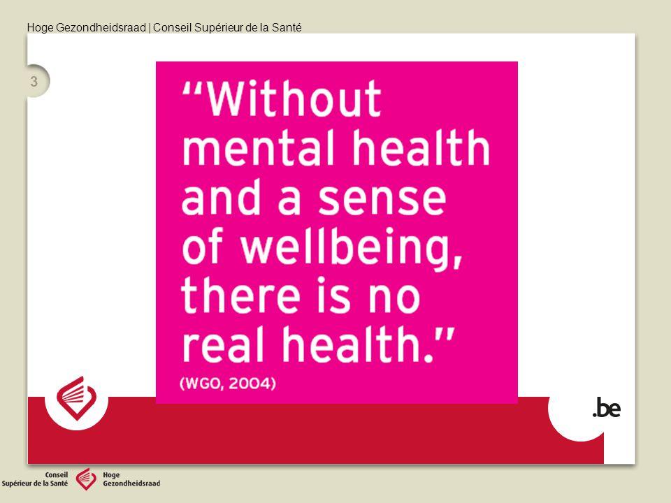 Hoge Gezondheidsraad | Conseil Supérieur de la Santé 3