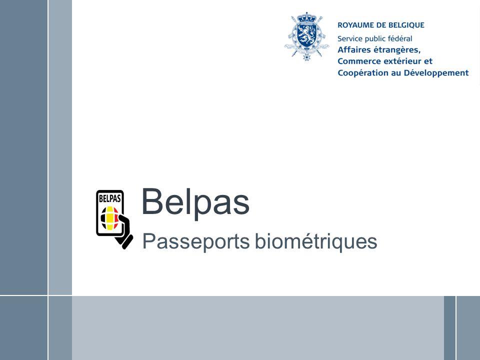 Belpas Passeports biométriques