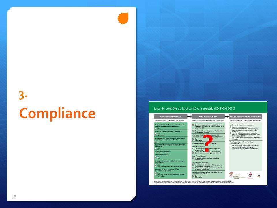 3. Compliance 18 ?