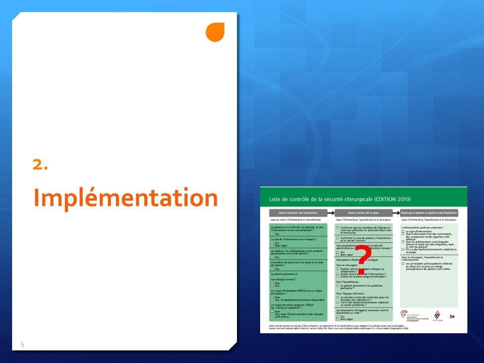 2. Implémentation 5 ?