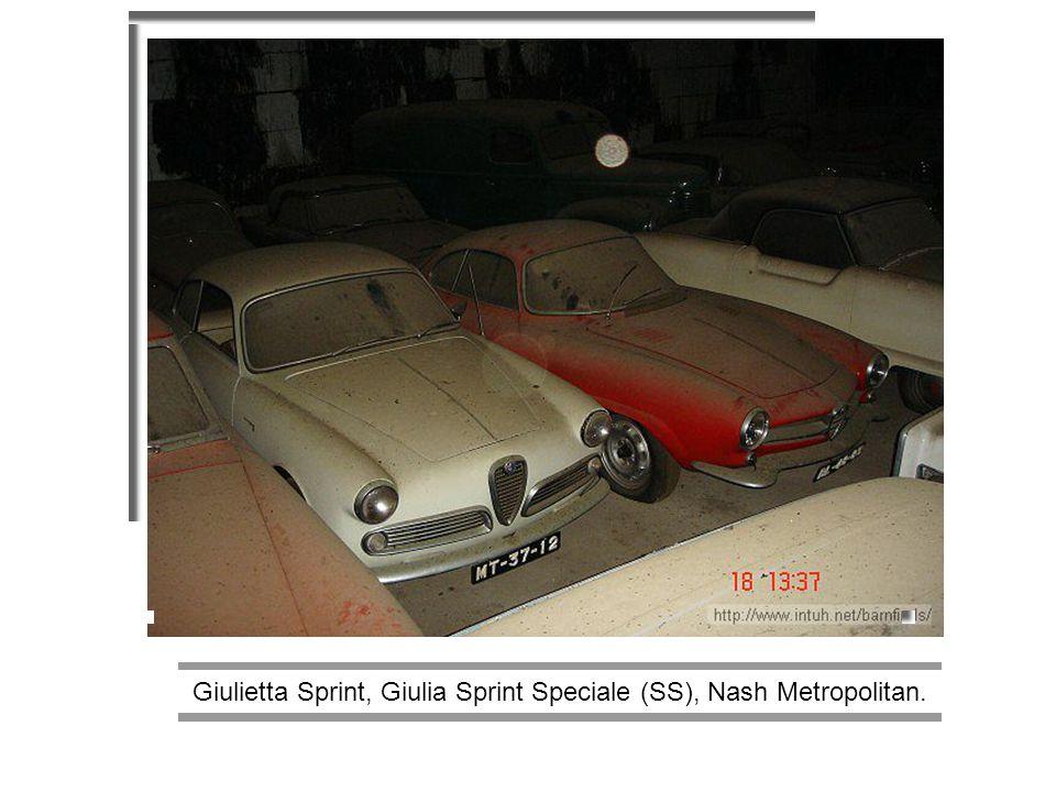 Giulietta Sprint, Giulia Sprint Speciale (SS), Nash Metropolitan.