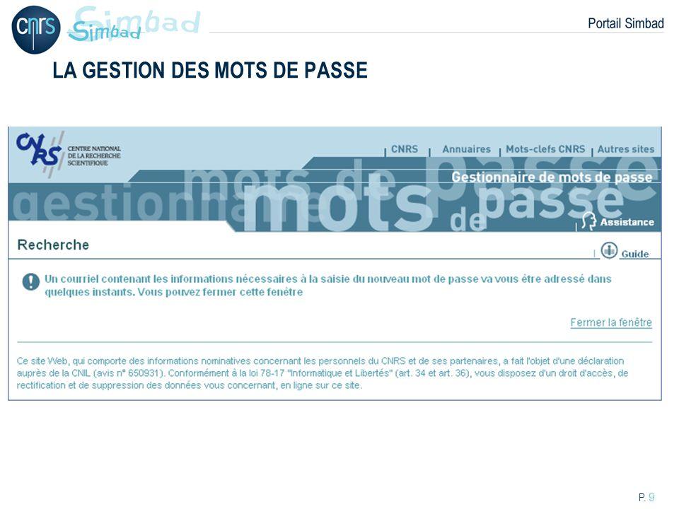 P. 20 UN EXEMPLE : SAISIE DUNE CARTE FIDELITE « Air France »