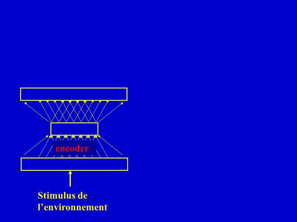 encoder Stimulus de lenvironnement