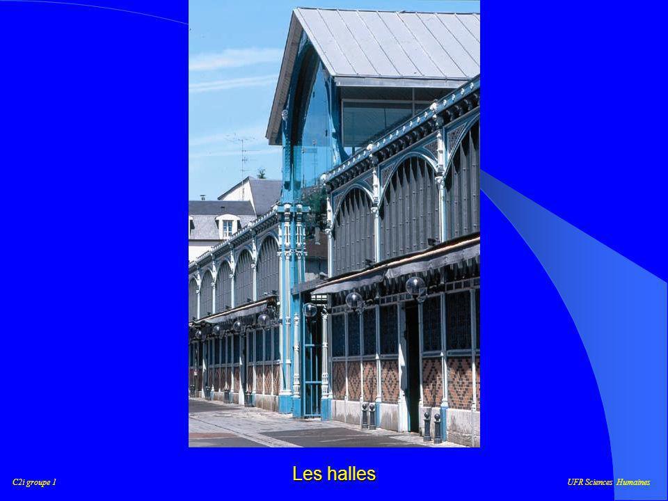 C2i groupe 1UFR Sciences Humaines Notre parcours Place Darcy Saint-Bénigne Les Halles Palais des Ducs