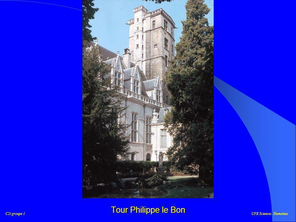 C2i groupe 1UFR Sciences Humaines Notre parcours Place Darcy Saint-Bénigne Les Halles Palais des Ducs Sainte-Anne