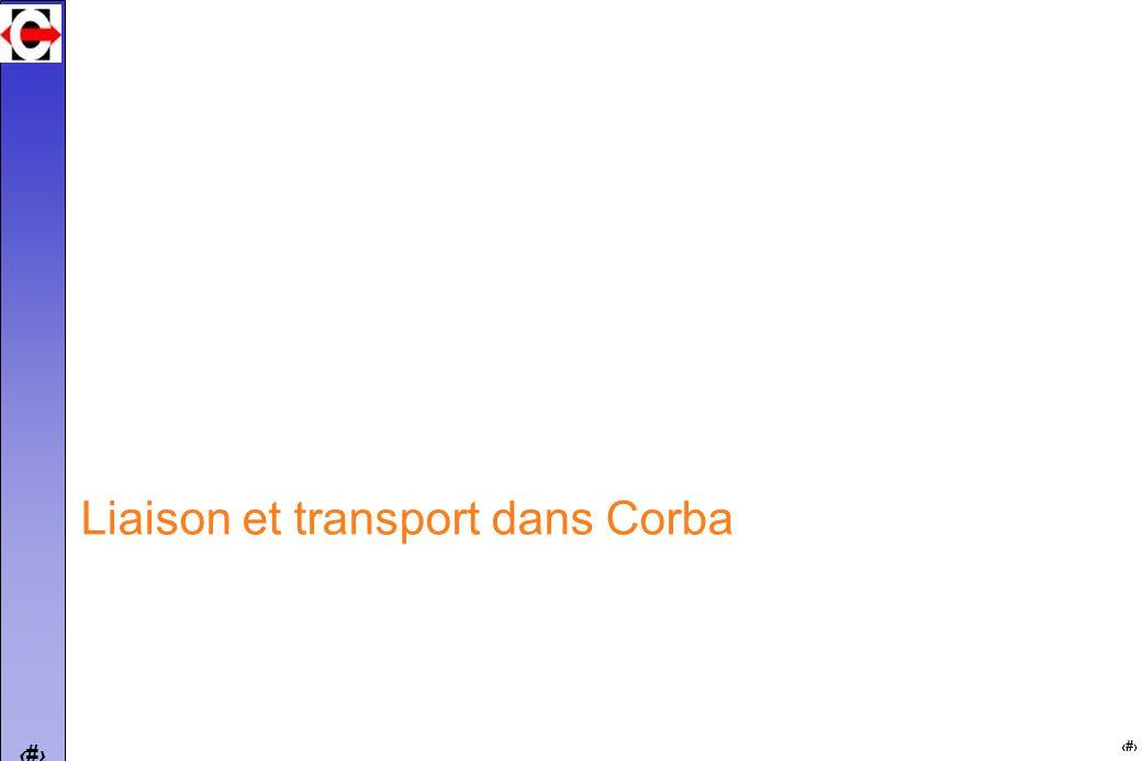 13 Liaison et transport dans Corba