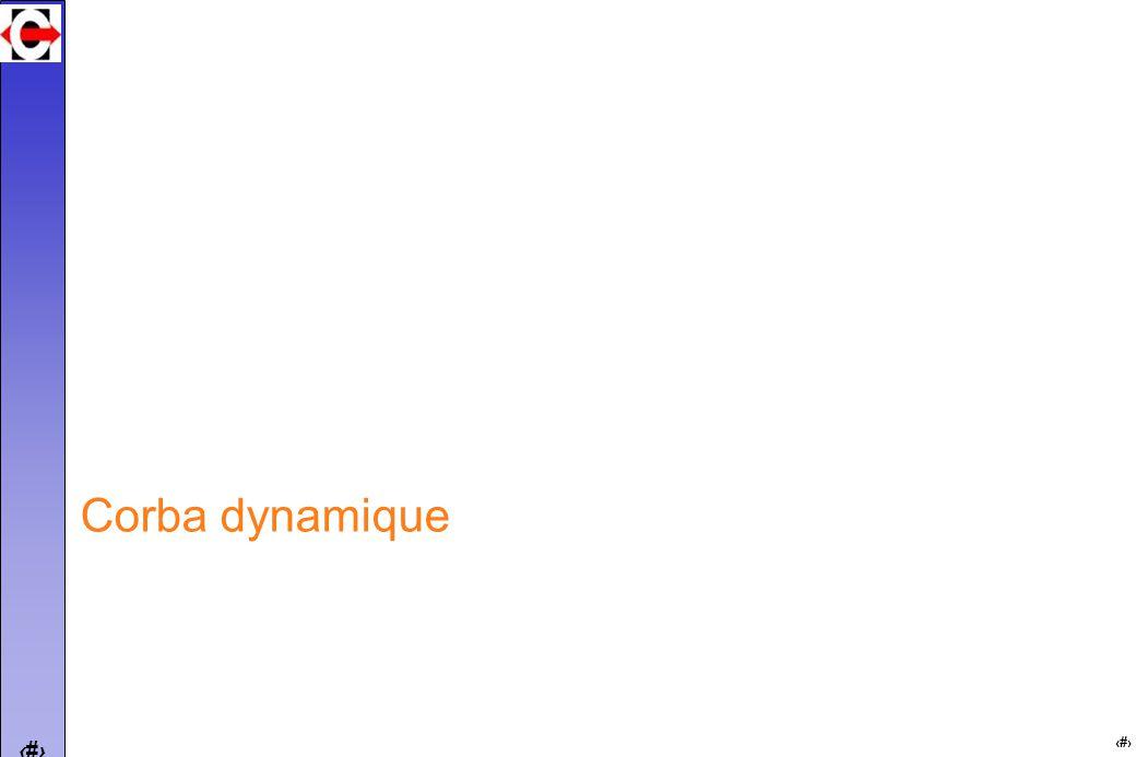 26 Corba dynamique