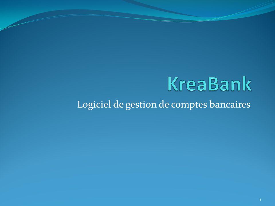 Logiciel de gestion de comptes bancaires 1