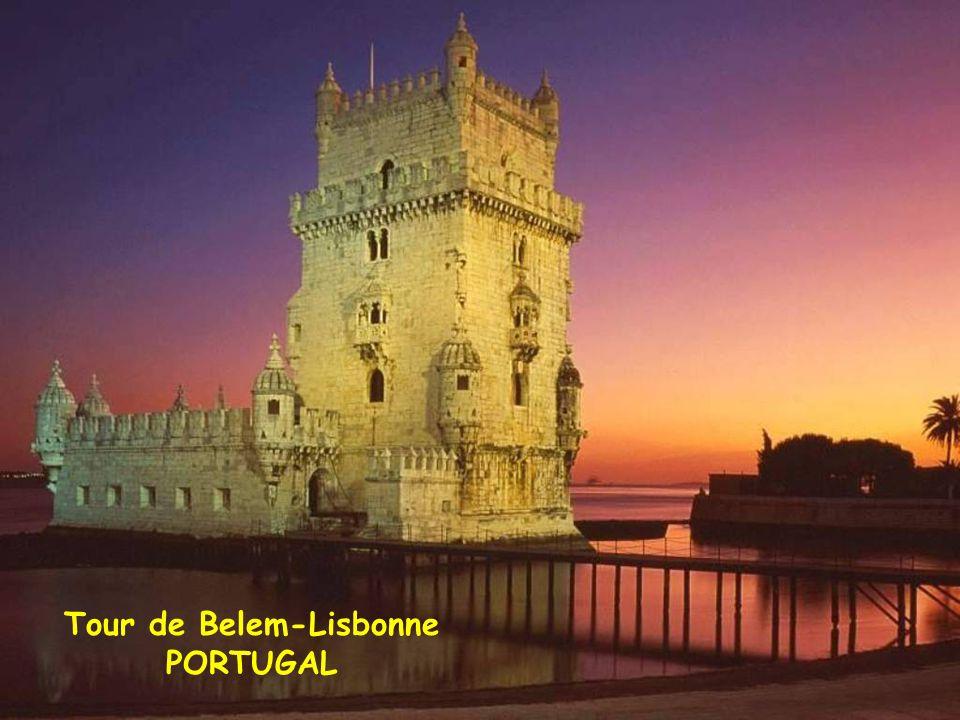 Tour de Belem-Lisbonne PORTUGAL