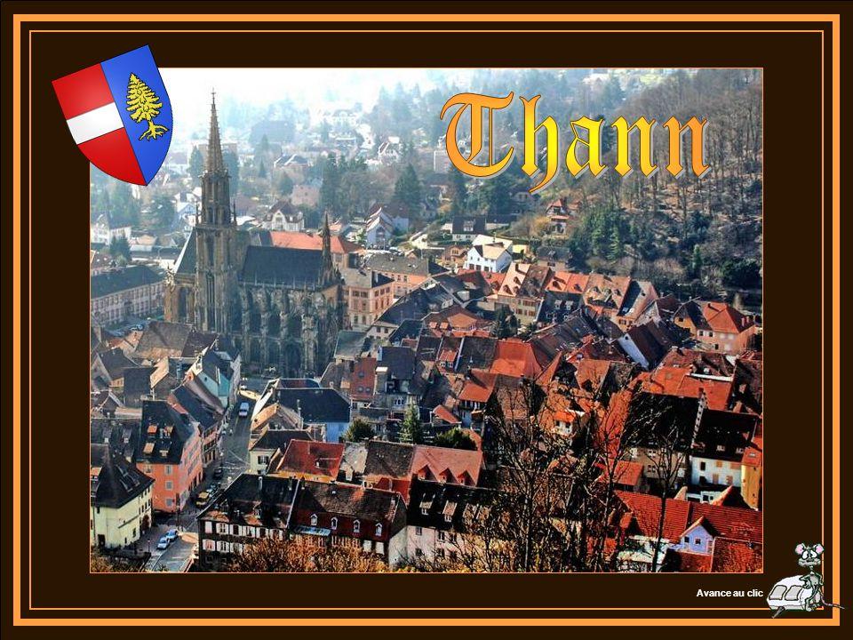 Située à l extrémité méridionale du vignoble régional et réputée pour son Grand Cru « le Rangen », la ville de Thann est la Porte Sud de la Route des Vins d Alsace.