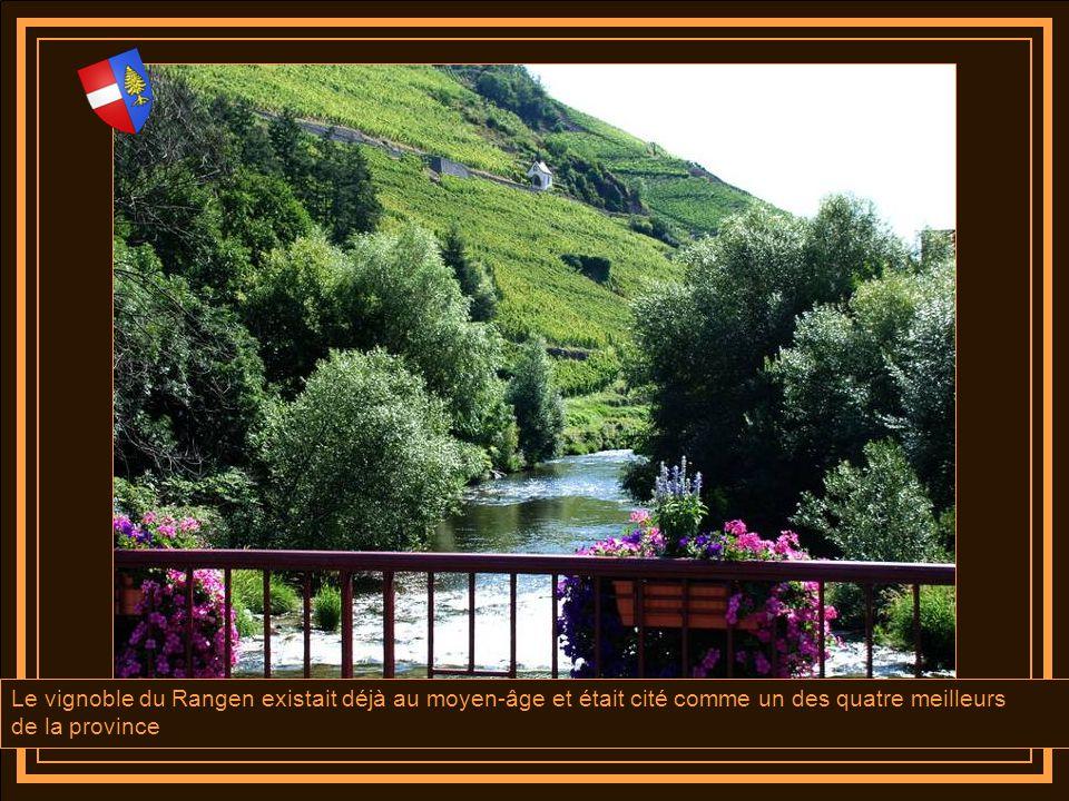 Située à l'extrémité méridionale du vignoble régional et réputée pour son Grand Cru « le Rangen », la ville de Thann est la Porte Sud de la Route des