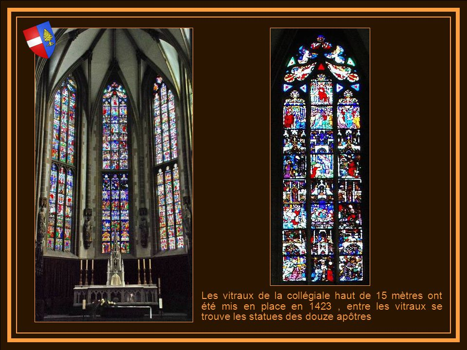 La chaire est de style renaissance alsacien et date de 1629 La porte daccès et la rampe résultent dun remarquable travail de ferronnerie et labat voix