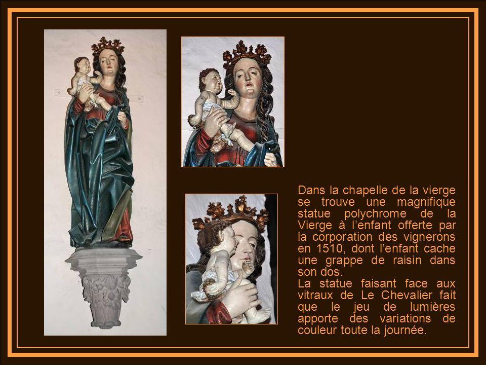 A Thann cest la ville, les princes possessionnés qui font ériger le sanctuaire grâce au produit des grandes quêtes et aux produits des offrandes des p