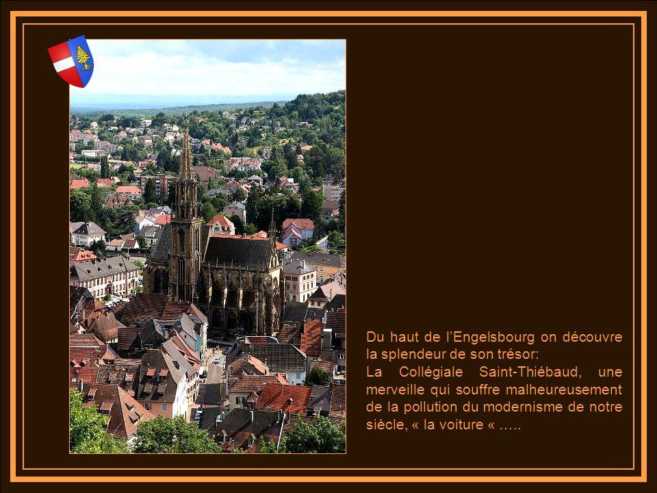 A Thann cest la ville, les princes possessionnés qui font ériger le sanctuaire grâce au produit des grandes quêtes et aux produits des offrandes des pèlerins attirés par ce lieu ou saccomplissent des merveilles.