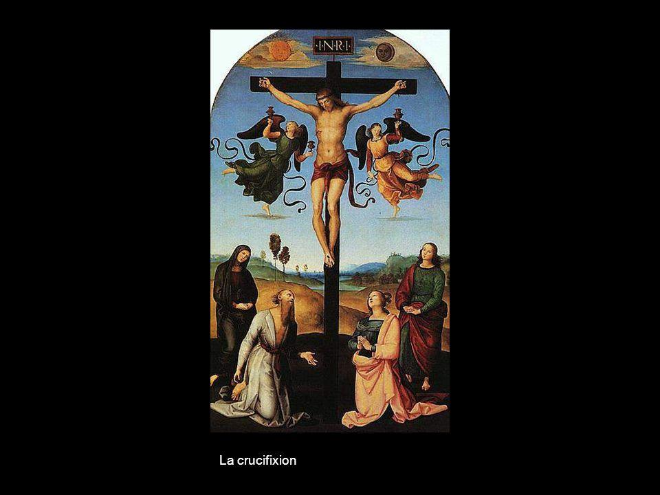Marie avec Jésus et Saint Jean- Baptiste