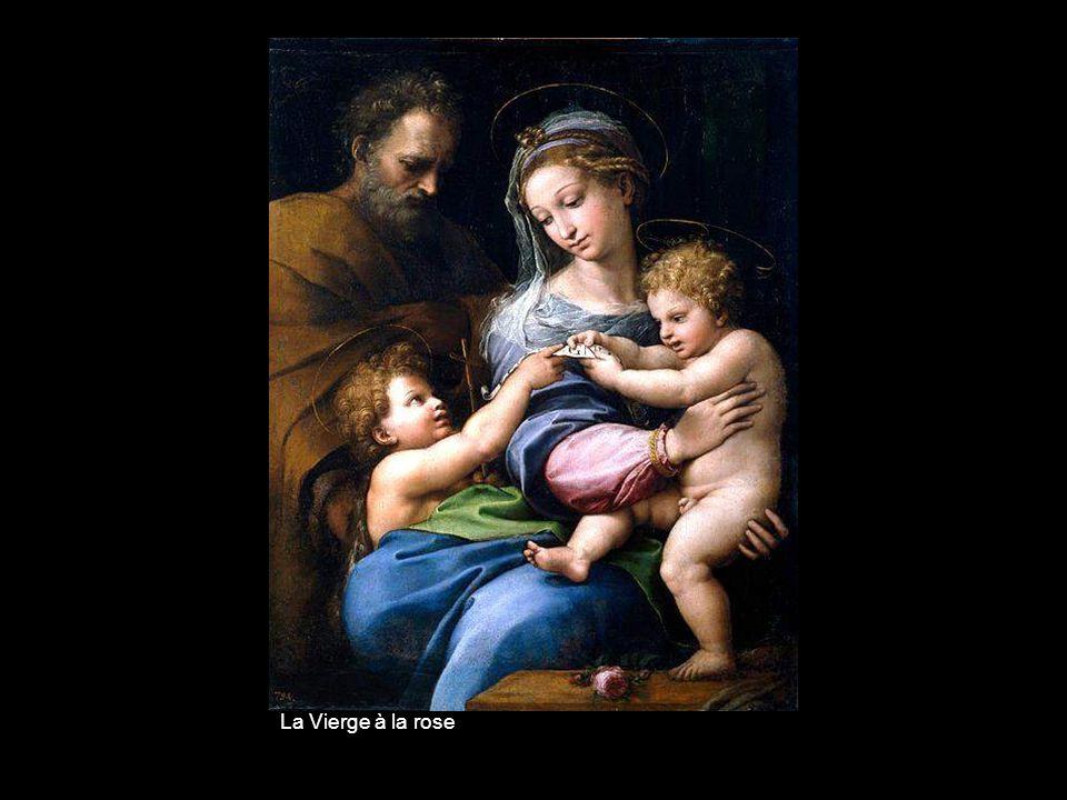 La Sainte Famille et lagneau