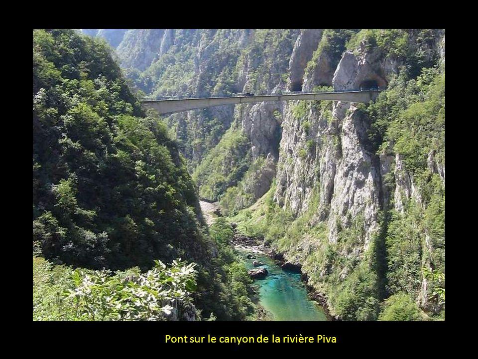 Parc National de Durmitor, lac de Piva