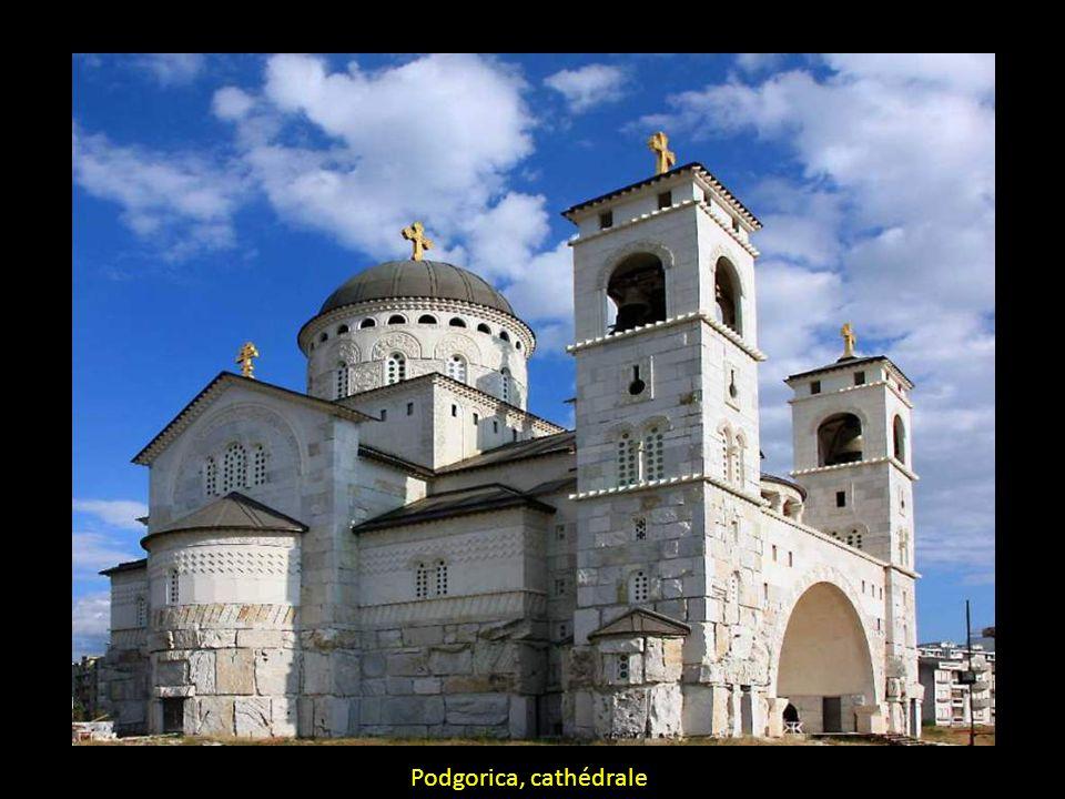 Podgorica, cathédrale