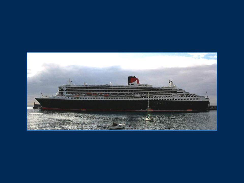 Les Chantiers de l Atlantique de Saint-Nazaire ont mis seulement 694 jours pour construire ce navire géant.