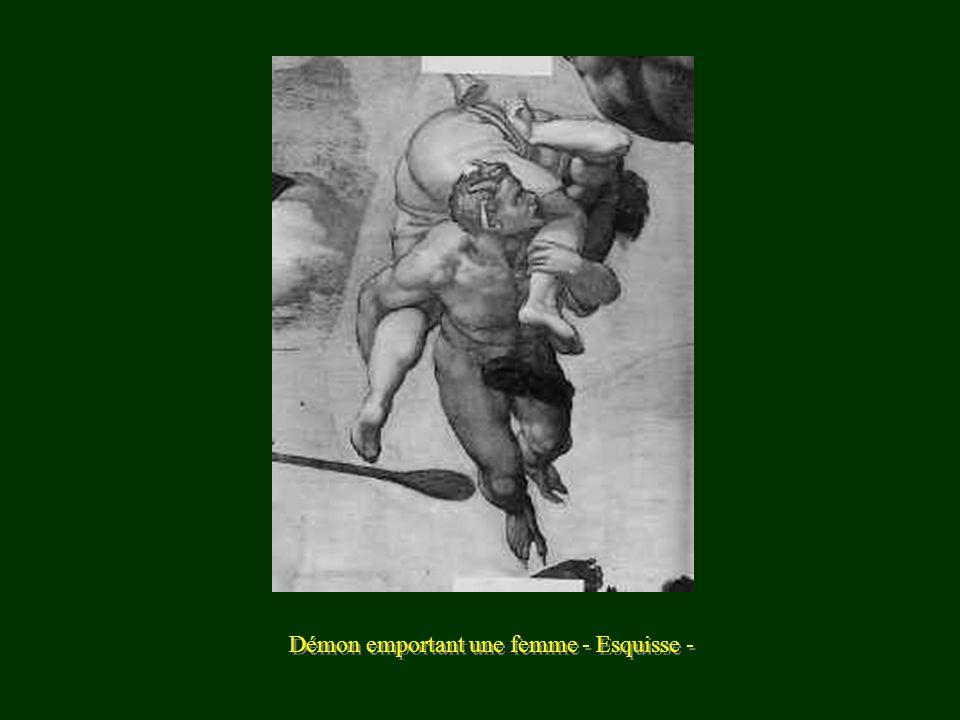 Esquisse - Les lutteurs -