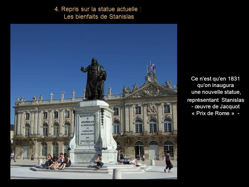 A la mort de Stanislas le 23 février 1766, les duchés de Lorraine et de Bar seront réunis en douceur au royaume de France. 3. La réunion à la France