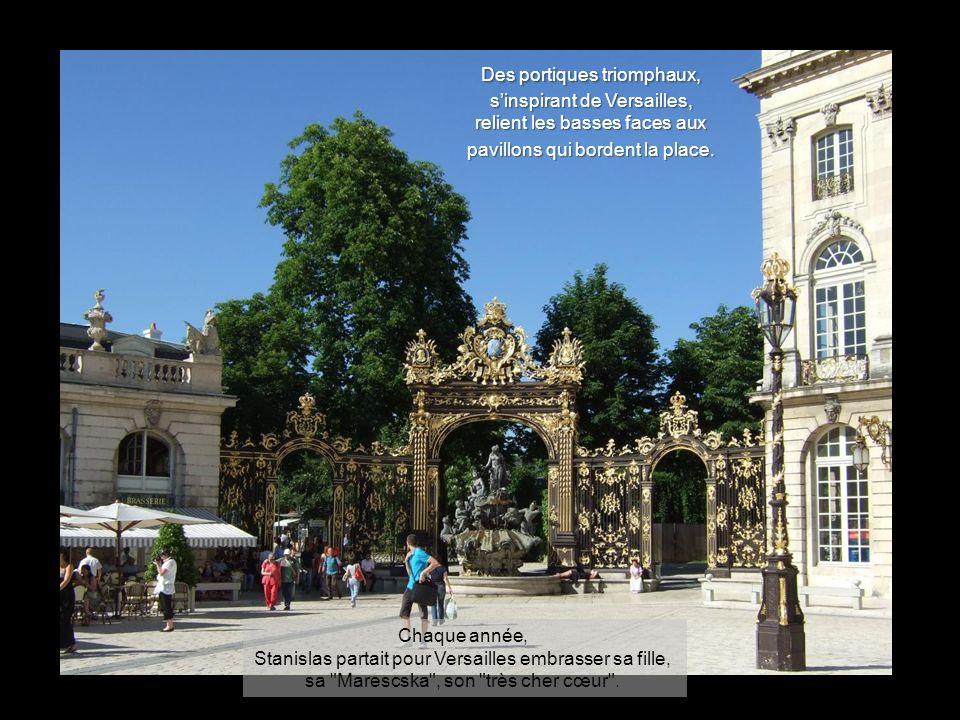 Les bâtiments des « basses faces » furent alloués à des bourgeois de Nancy. Le café Royal existait en 1755.