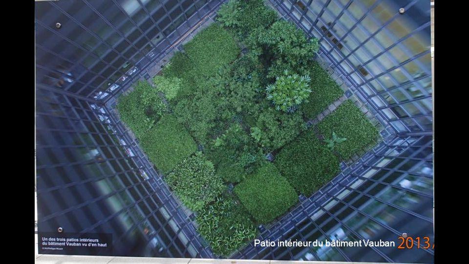 Très belle vue sur Paris, notamment sur lInstitut de la mode et du design.