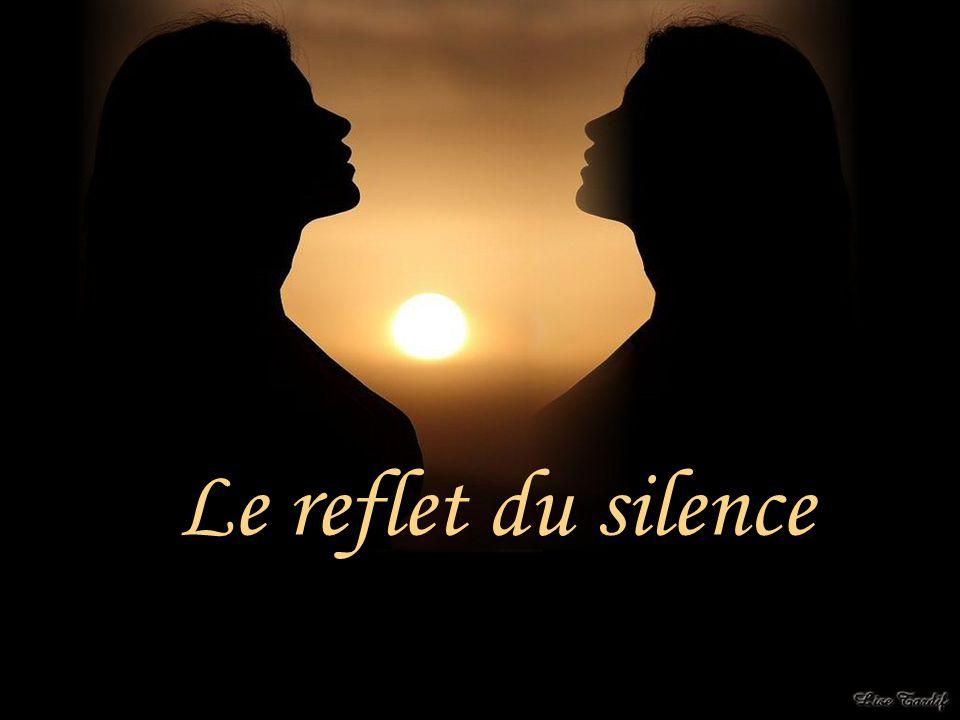 Une femme vit bien souvent dans le reflet du silence… Je suis une femme et je vous ai confié mes impressions…ce que je ressens en toute honnêteté.