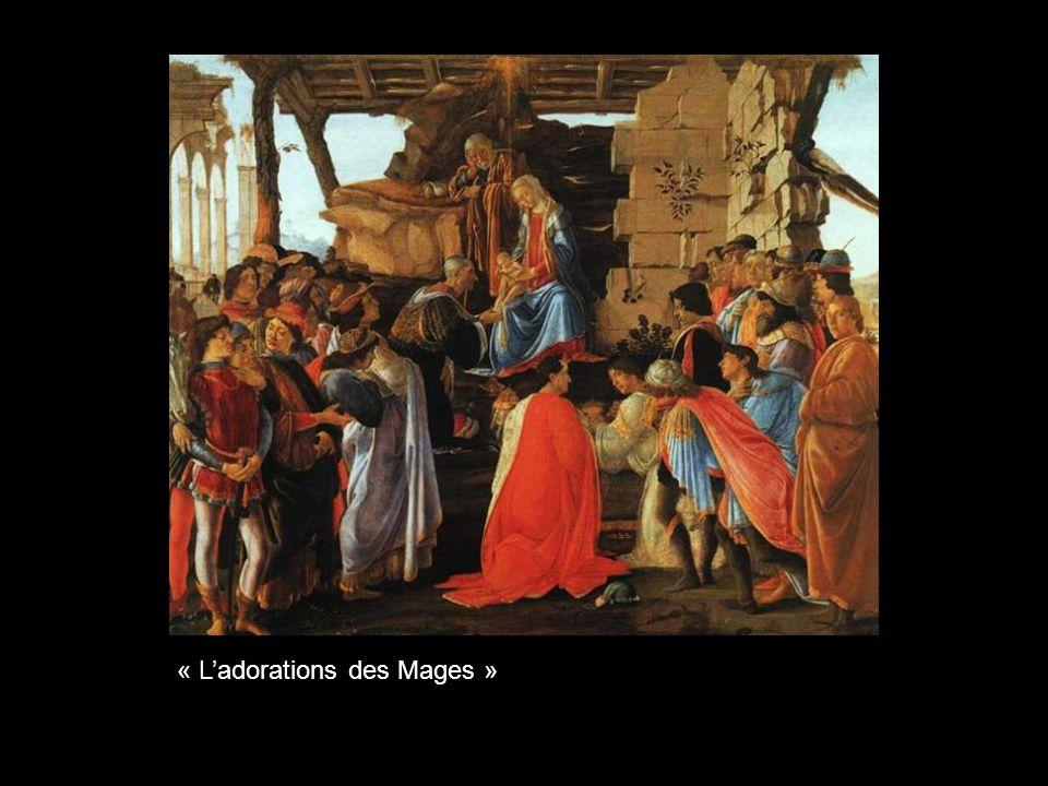 « La Vierge avec lEnfant entourés des anges et des saints »