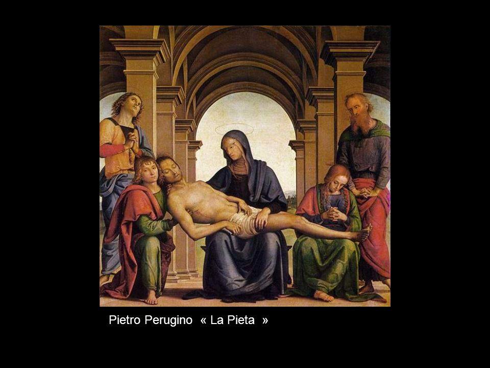 Fra Bartolomé « Vision de saint Bernard avec sainte Bénédicte et saint Jean lEvangéliste »
