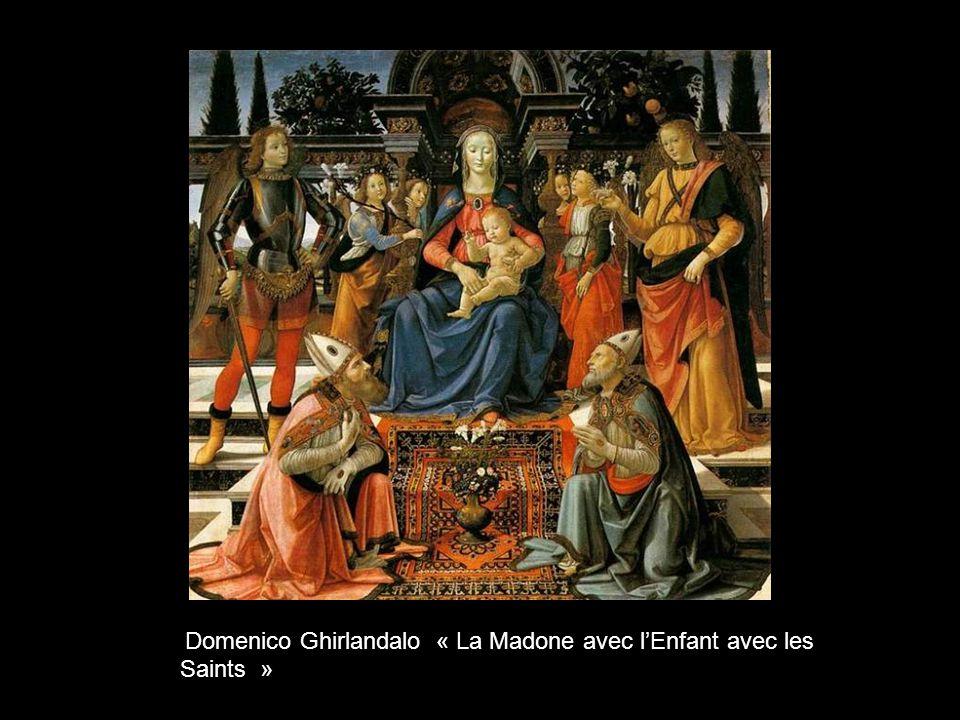 Léonard de Vinci « Ladoration des Mages »