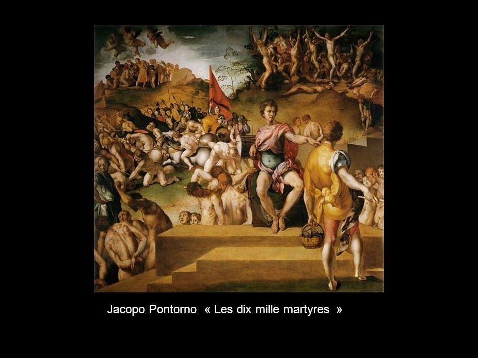 Domenico Ghirlandalo « La Madone avec lEnfant avec les Saints »
