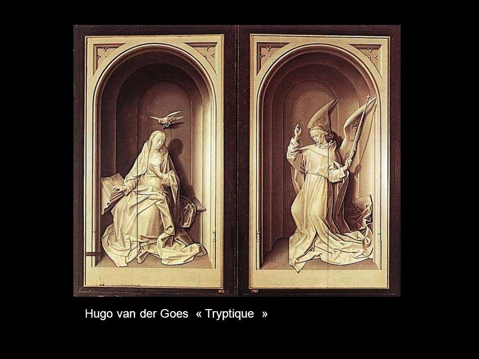 Hugo van der Goes « Ladoration des bergers »