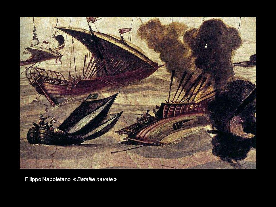 Domenico Tintoretto « Bataille de Salvore – Venise contre la flotte ottomane - »