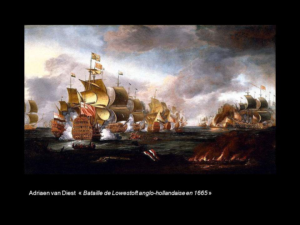 Abrahamsz Beerstraten « Vaisseau amiral hollandais »