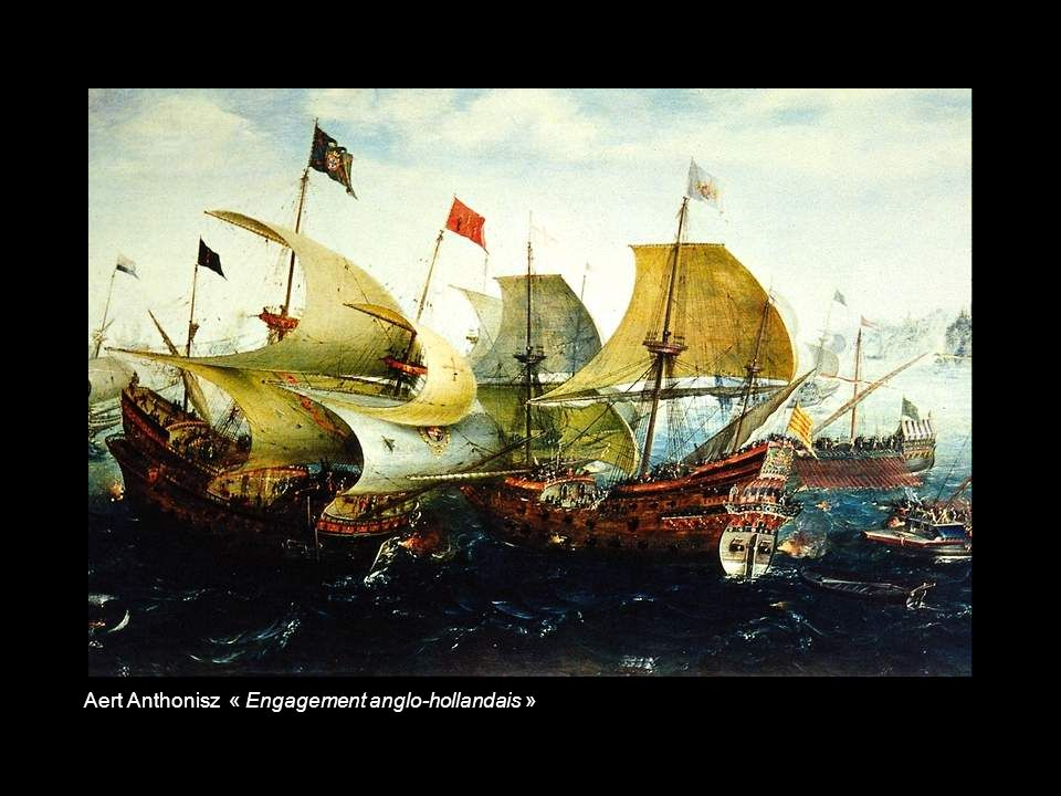 Adriaen van Diest « Bataille de Lowestoft anglo-hollandaise en 1665 »